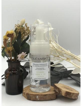 Mousse nettoyante aux plantes aromatiques - La Canopée
