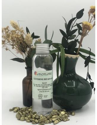 Glycérine végétale bio - 100 ml - Bioflore