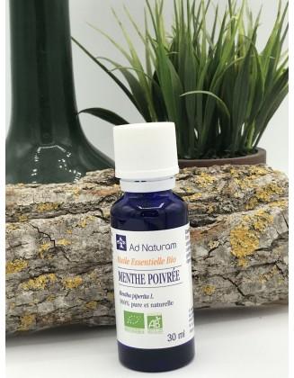 Huile essentielle Menthe Poivrée bio - 30 ml - Ad Naturam