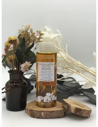 Huile douce aux fleurs démaquillante - La Canopée