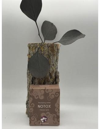 Notox - Shampoing solide - Cheveux gras, pellicules et démangeaisons - Boîte carton - 65g - Pachamamaï