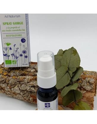 Spray Gorge Respiratoire - 10 ml - Ad Naturam