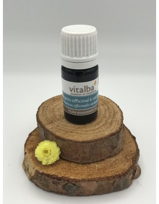 Huile essentielle Romarin à Verbénone Demeter bio  - 5 ml - Vitalba