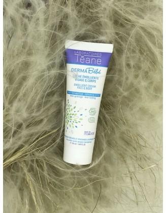 Crème émolliente peau atopique bébé bio - 50 ml - Téane