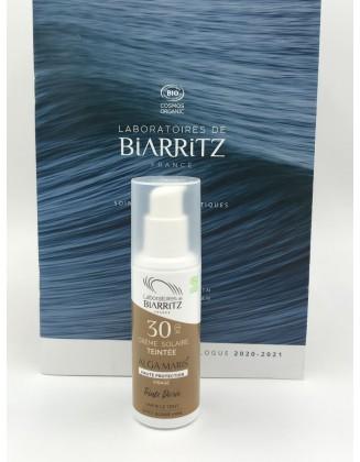 Crème solaire teintée SPF30 - Dorée - 50 ml - Alga Maris
