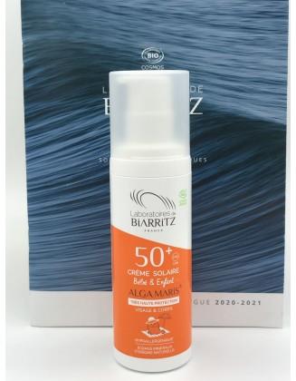 Crème solaire Bébé & Enfant - SPF50+ - 100ML - ALGA MARIS