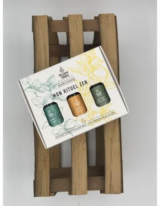 Mon Rituel Zen - Coffret aroma synergies - De Saint Hilaire -