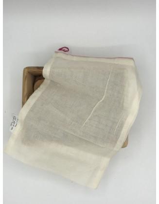 Sacs coton bio réutilisables - lot de 5 - Taille S (20x28cm)