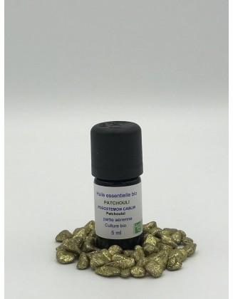 Huile essentielle Patchouli bio - 5 ml - Essenciagua