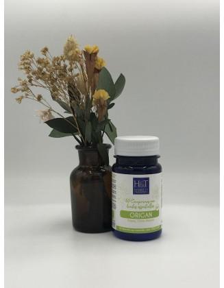 Origan - 60 comprimés aux huiles essentielles bio - Herbes & Traditions