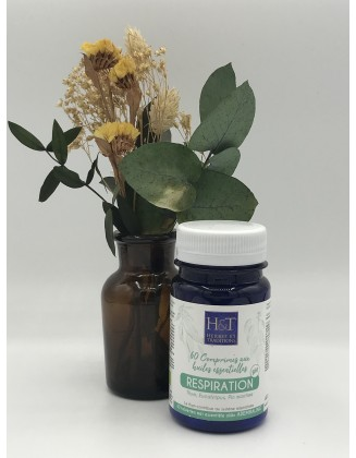 Respiration - 60 comprimés aux huiles essentielles bio - Herbes & Traditions