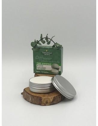 Galet céramique aromatique de poche