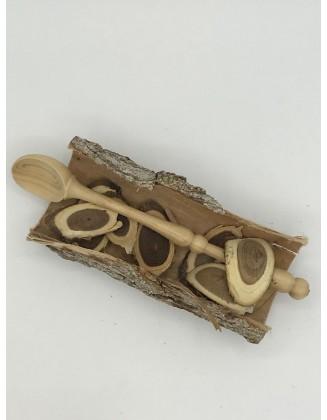 Cuillère en bois type confiture - Buis du Jura