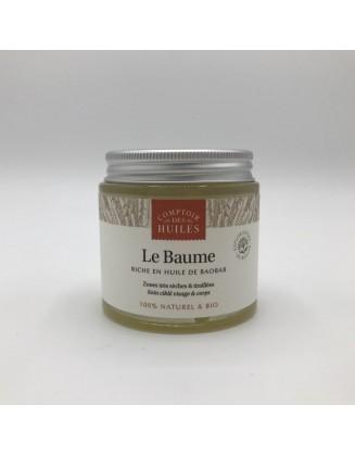 Baume nourrissant à l huile de Baobab - 30 ml - Comptoir des Huiles