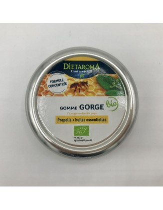 Gommes  gorge Propolis & Huiles essentielles - Dietaroma -