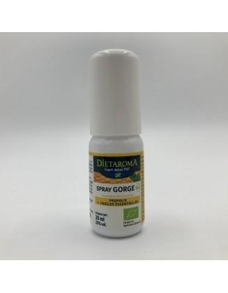 Spray  gorge Propolis & Huiles essentielles - 20 ml - Dietaroma -