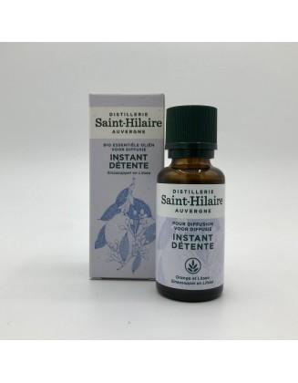 Instant Détente Synergie bio - 30 ml -De Saint Hilaire