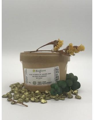 Cire d Abeille jaune bio, granulés - 50 g - Bioflore